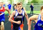 Tristan Bierschenk ran a leg of the 4x800-meter relay for Canby-Minneota.