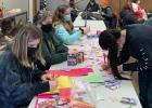 The Westerheim Flashing Stars 4-H group made Valentine's Day cards and gave them to seven Minneota City Workers, 20 First Responders and 25 members of the Minneota Fire Department as a way to thank them for their services.