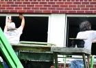 Windows were going into the school this week.