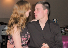 Erin and Brian Lawburgh of Hendricks spent time on the dance floor with others showing off their dance moves.