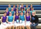 Members of the third place Canby-Minneota Sensations Dance Team.