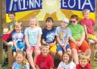 The St. Edward Summer Care group. Top row, left to right: Jadin Otto, Audyn Traen, Jade Abraham, Quinn Pohlen, Wyatt Opdahl, Josh Arends, and Winston Strand. Bottom row, left to right: Brisbyn Traen, Ryker Crowley, Layla Opdahl, and William Buysse.