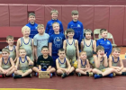 The Minneota K-3 wrestling squad placed third in the Benson Wrestling Tournament recently.