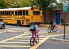 "Kids grades K-8 are invited to participate in the ""Bike to School"" poster contest."