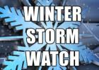 WINTER STORM WATCH REMAINS IN EFFECT FROM SUNDAY EVENING THROUGH MONDAY AFTERNOON